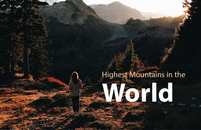 Photo of Highest Mountains in the World