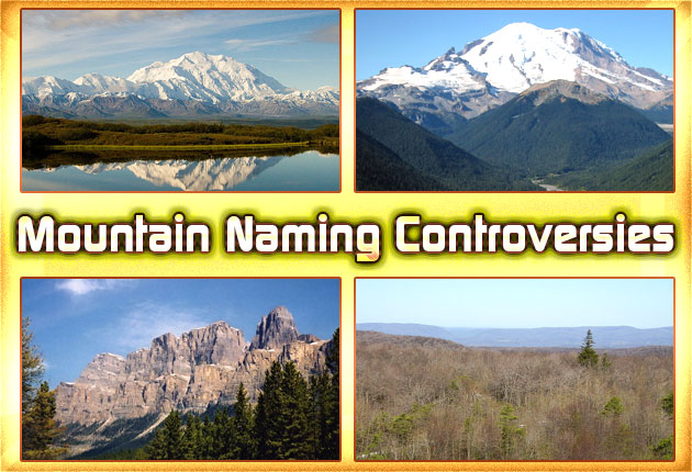 Photo of Mountain Naming Controversies