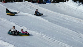 Snow tubing equipment