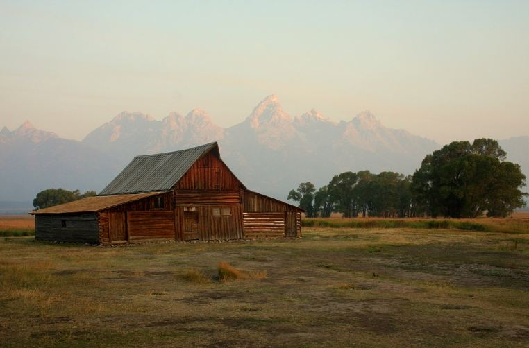 Barn at Grand Teton National Park